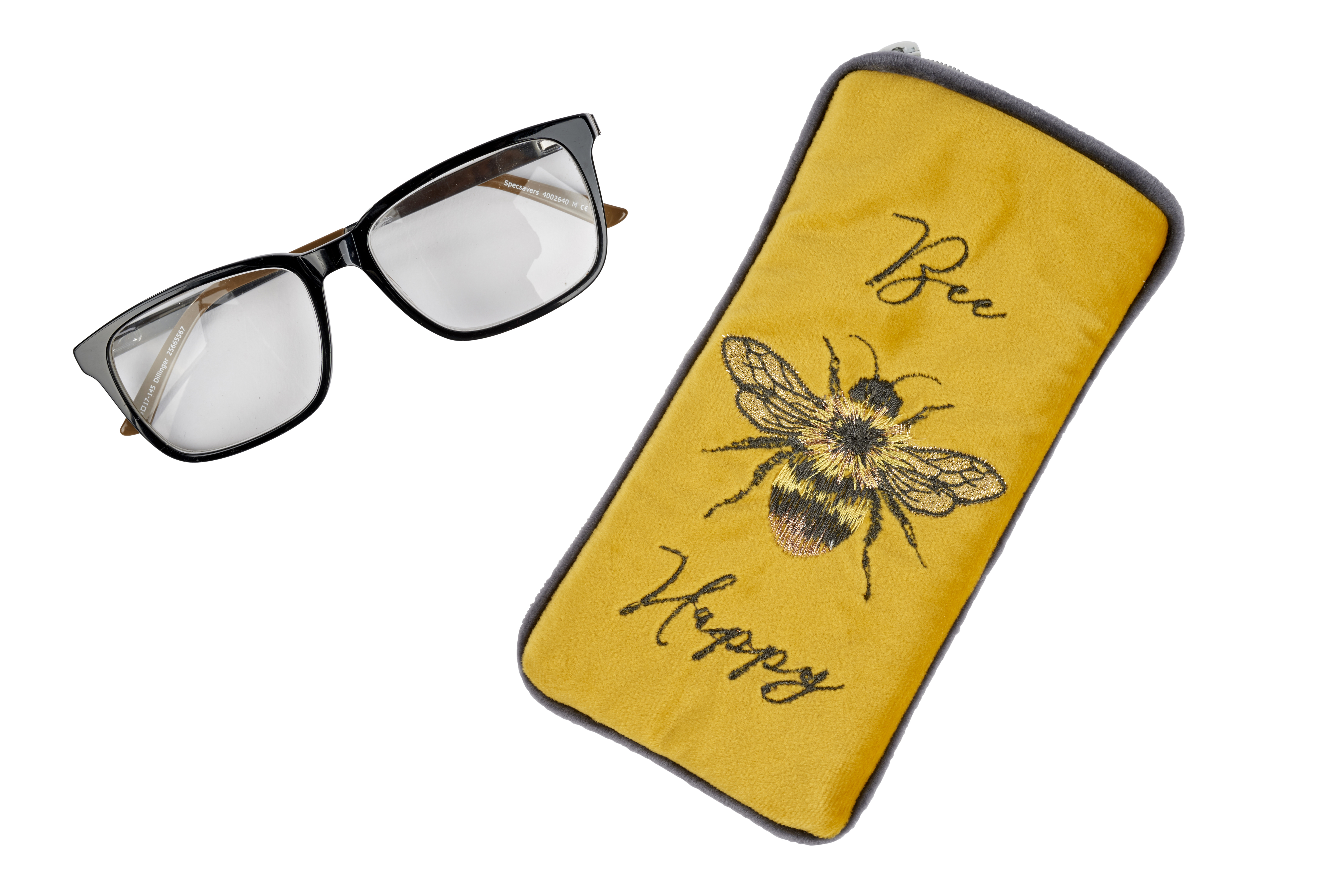 BEE HAPPY GLASSES CASE####2021-a/w