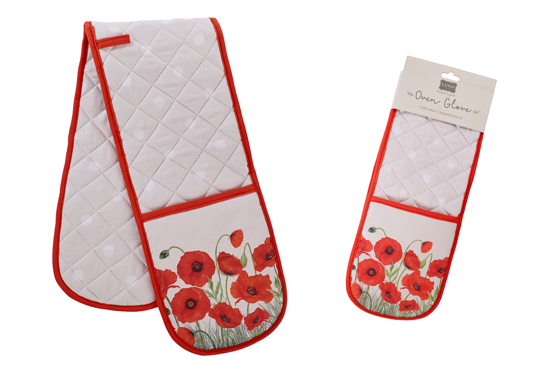 POPPY OVEN GLOVES