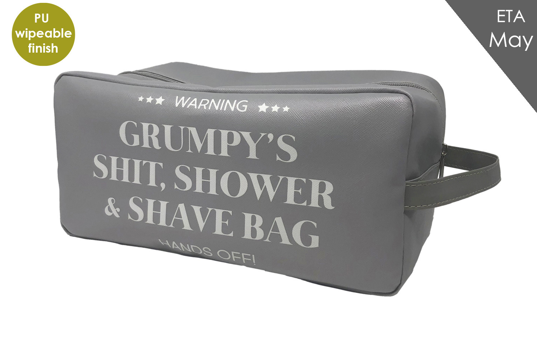 GRUMPY WASH BAG*