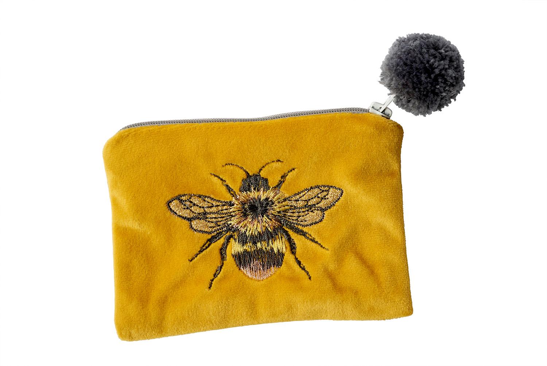 BEE MUSTARD PURSE