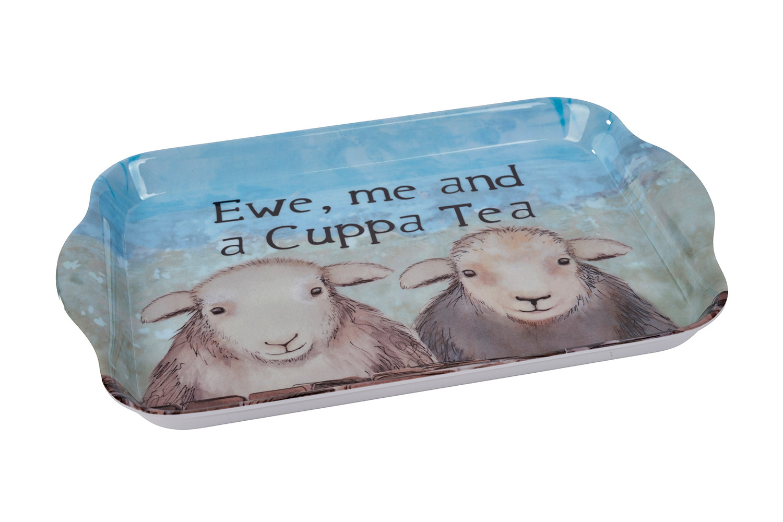 SHEEP MELAMINE TRAY