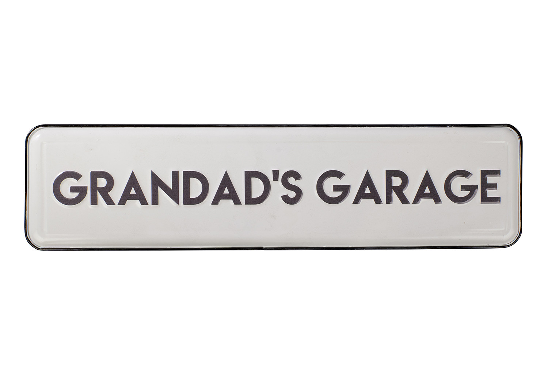 GRANDAD'S GARAGE SIGN