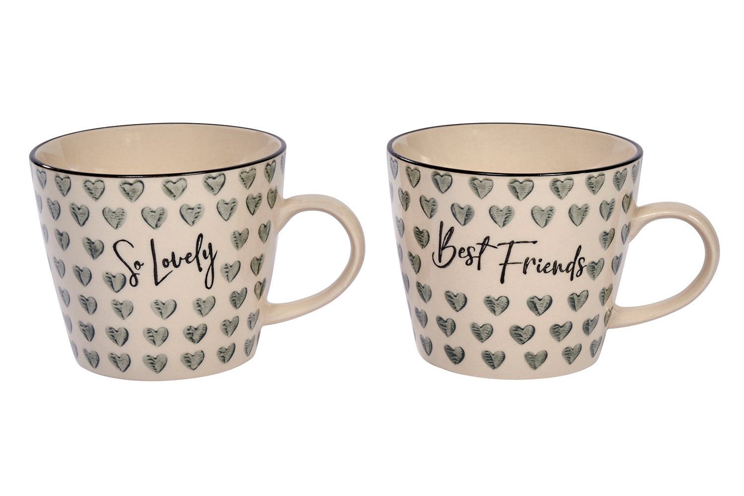 FRIEND HEART MUG 2 ASSTD