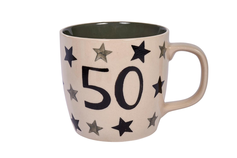 50 STARS MUG
