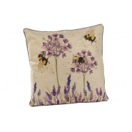 LAVENDER BEE CUSHION
