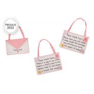 Pink Tooth Fairy Envelope 2Asstd*2022*
