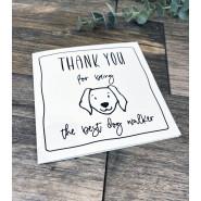 THANK YOU DOG WALKER CARD