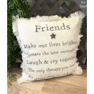 FRIENDS MEANINGFUL CUSHION*