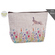 FLOWER WITH HARE POUCH*
