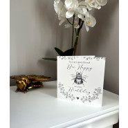 BEE HAPPY GREY B/DAY CARD