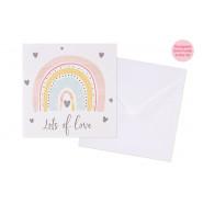 RAINBOW LOVE CARD