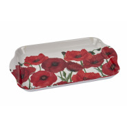 POPPY MELAMINE TRAY