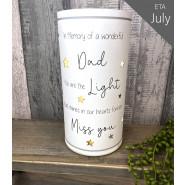 NEVER FORGOTTEN LED LIGHT DAD*