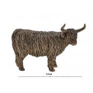 HIGHLAND COW BRONZE