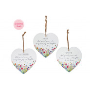 FAMILY FLOWER HANGER 3 ASSTD