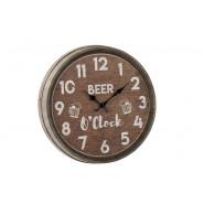 BEER BARREL CLOCK
