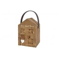 HOUSE WOOD DOORSTOP*
