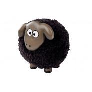 BLACK POM POM SHEEP LGE