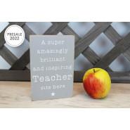 TEACHER BLOCK