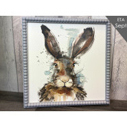 HARE PICTURE W/BEAD*