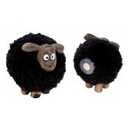 BLK POM POM SHEEP MAGNET
