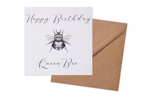 QUEEN BEE BIRTHDAY CARD