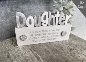 DAUGHTER CUT OUT BLOCK*