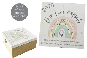 RAINBOW TIME CAPSULE BOX